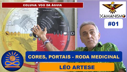 Cores, Portais na Roda Medicinal Hemisfério Sul - Léo Artese