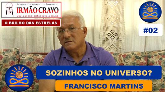 Estamos sozinhos no Universo? - Francisco Martins