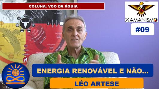 Energias Renováveis e Não Renováveis - Léo Artese