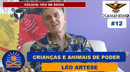 Crianças e animais de poder – Léo Artese