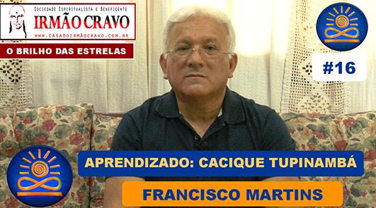 Aprendizado com Cacique Tupinambá - Francisco Martins