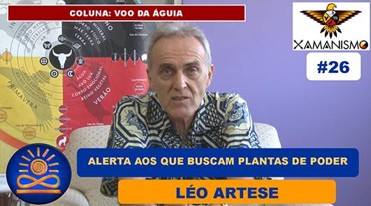 Alerta aos que buscam as Plantas de Poder - Léo Artese